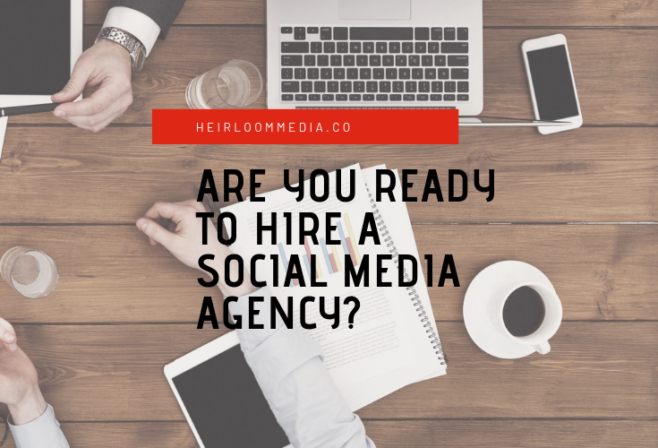 hire a social media agency