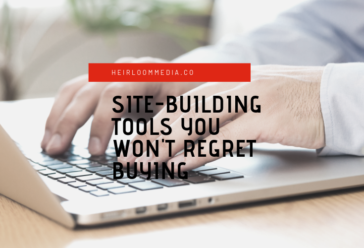 essentiall tools for building a website