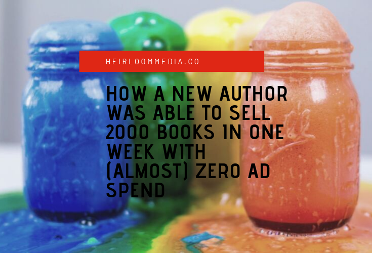 facebook strategy for authors